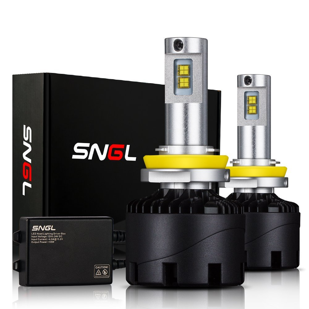 medium resolution of sngl super bright led headlight conversion kit brightest led headlight bulbs