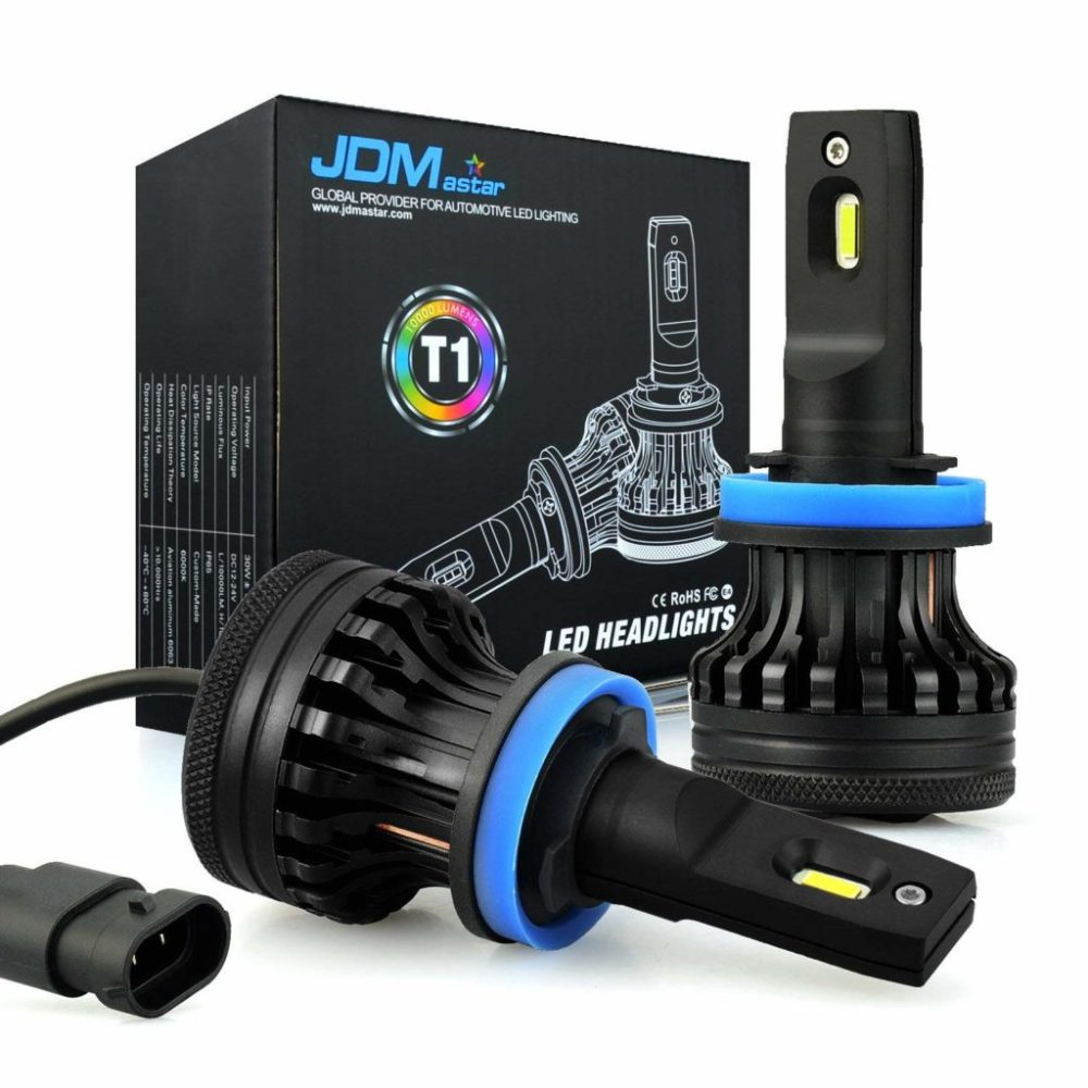 medium resolution of jdm astar t1 led headlight bulbs conversion kit