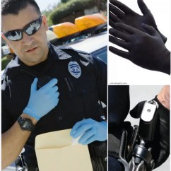 Directors Chair White Fabric For Chairs Heavy Duty Nitrate Gloves Police And Law Enforcement - Best Stuff