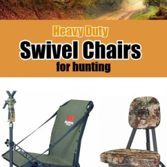 Folding Swivel Hunting Chair Slipcovers For Bar Chairs [2018] Best Heavy Duty Reviews