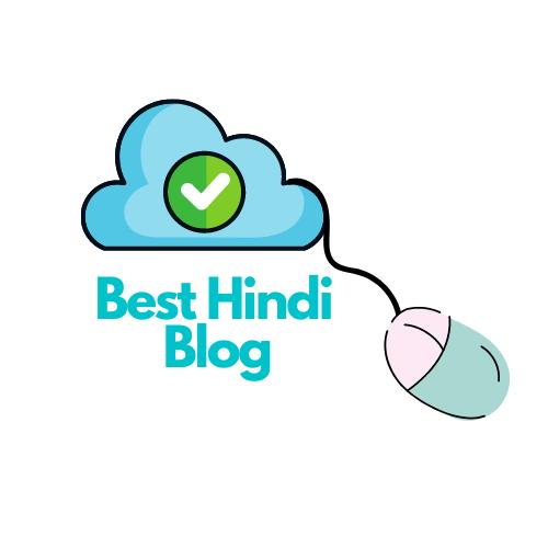 Besthindiblog.in Best Hindi Blog Logo