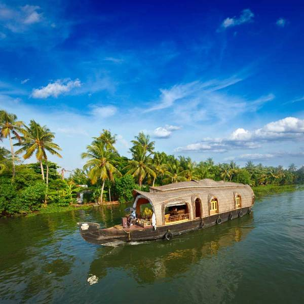 India Kerala Backwaters Houseboat