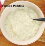 tapioca pudding recipe