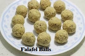Falafel- How to make falafel balls
