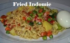 Fried Indomie