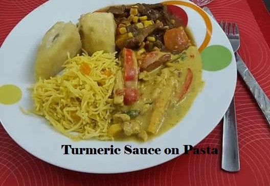 Turmeric sauce
