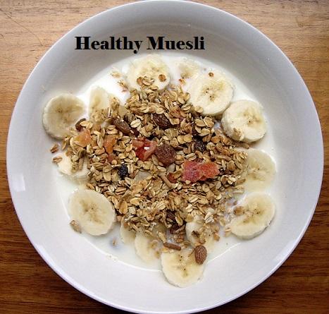Healthy muesli