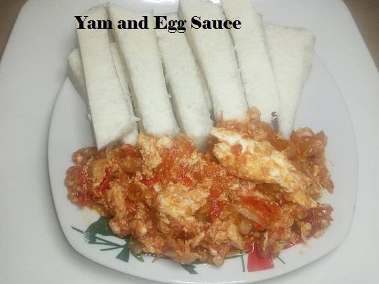 Egg sauce recipe
