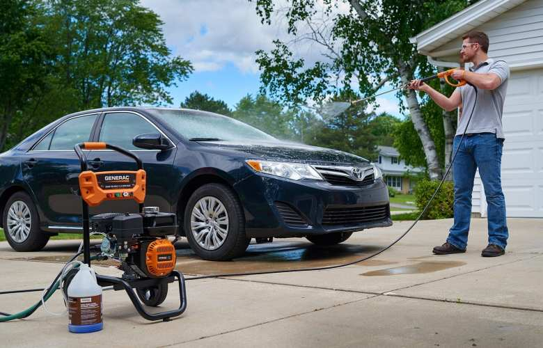 Best Pressure Washer for Cleaning Cars & Trucks