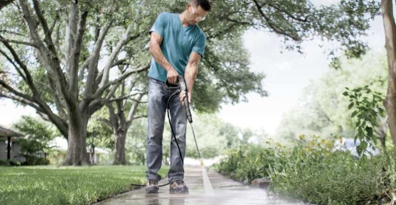 Pressure Washer for Concrete Driveways