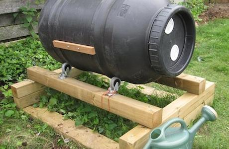 DIY Compost Bin Tumbler - Best Home Gear
