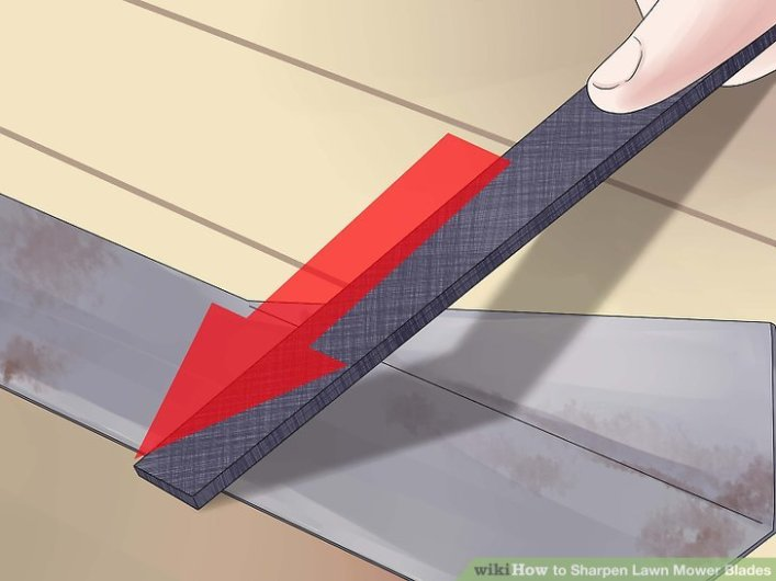 How to file lawn mower blade   Best Home Gear
