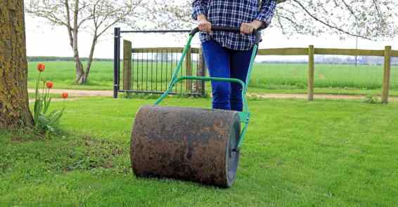Using Lawn Roller | Best Home Gear