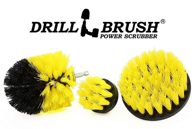 clean grout with drill brush | Best Home Gear