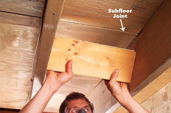 Fix Squeaky Floors WIth Spacers - Best Home Gear