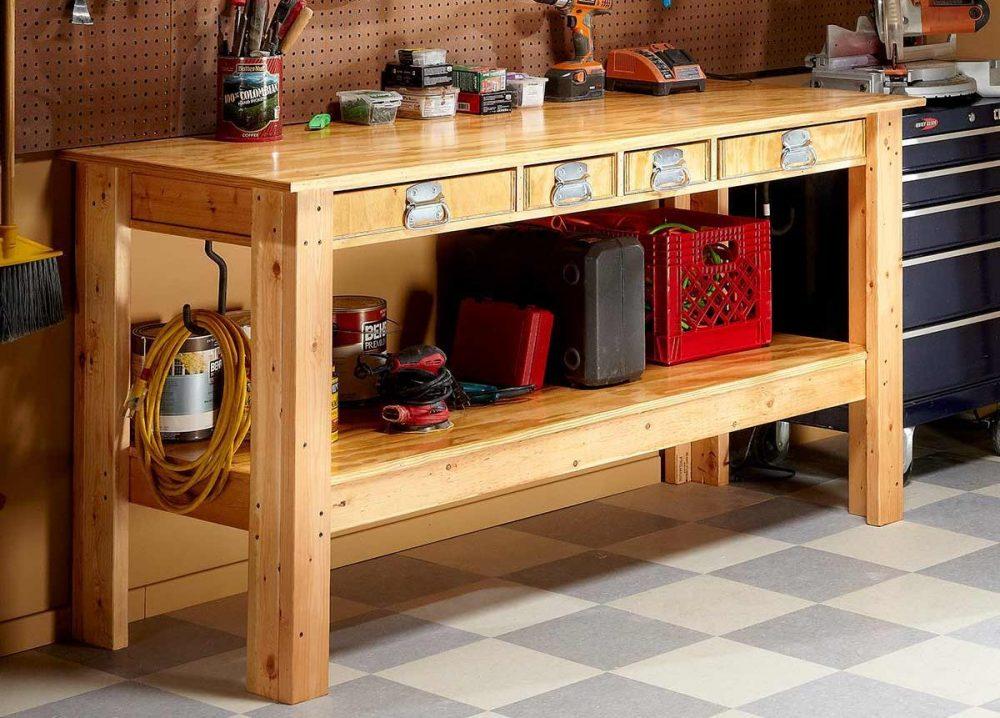 DIY Workbench - Best Home Gear