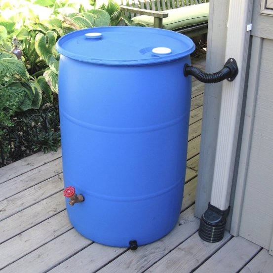 Plastic Rain Barrel - Best Home Gear