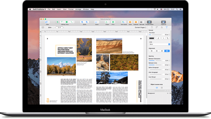Swift Publisher Review: Dynamic Data Fields, Two-Page Spreads, Text to Curve