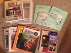 Grade 1 Homeschool Math Science History Writing lot Bob Johns Rod and Staff