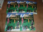 ABEKA grade 1 SAFETY and MANNERS lot of 5 books CO OPS Homeschool