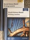 IEW World History Based Writing Lessons Teacher Student Book COMBO NEW