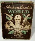 Abraham Lincolns World GENEVIEVE FOSTER 1944 1st Edition HARDCOVER