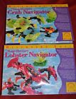 LOT OF 2 DISCOVERY TOYS OCEAN DISCOVERY CRAB  LOBSTER NAVIGATORS