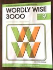 Wordly Wise 3000 Book 9 Second Ed 2007 Very good Free shipping