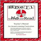 SPELL TO WRITE AND READ A STEP BY STEP GUIDE TO FOUNDATIONAL By Wanda Sanseri VG