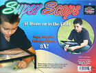 Super Scope Hands Free Magnifier 3X Super Magnifying Glass Stand or Around Neck