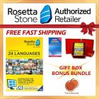NEW Rosetta Stone FULL COURSE LIFETIME DOWNLOAD GERMAN DICTIONARY GIFT BUNDLE