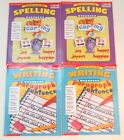 Scholastic Writing and Spelling Workbook 1  2 Lot of 4 Books NEW Homeschool