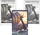 Christian Liberty Finding A New Land SET Textbook  Ans Key SET NEW