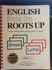 English from the Roots up I Flashcards Vol 1 by Joegil K Lundquist and
