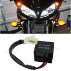 2 Pin Electronic LED Flasher Relay FIX Hyper Flash Motorcycle Turn Signal Bulb
