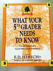 Core Knowledge What Your Fifth Grader Needs to Know  Fundamentals of a S4223C