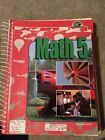 Bob Jones Math 5 textbook and teachers guide