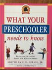Core Knowledge What Your Preschooler Needs to Know  Get Ready for Kindergarten