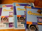 BJU PRESS BOB JONES GEOMETRY 3 PIECE SET 2ND EDITION STUDENT AND TEACHER