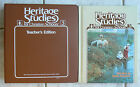 Bob Jones Heritage Studies 3 3rdhistory textTE Families in Early America 1982