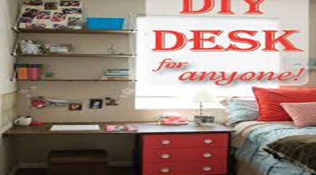 DIY Desk Nightstand – Free Woodworking Plans.