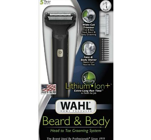 The Wahl Beard & Body 9884-200 foil shavers