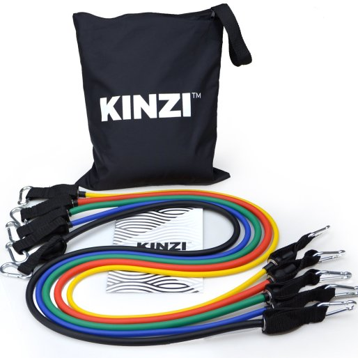 Resistance band gym equipment