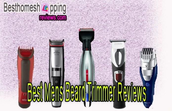 Best Mens Beard Trimmer Reviews