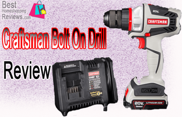 Craftsman Bolt On Drill Review