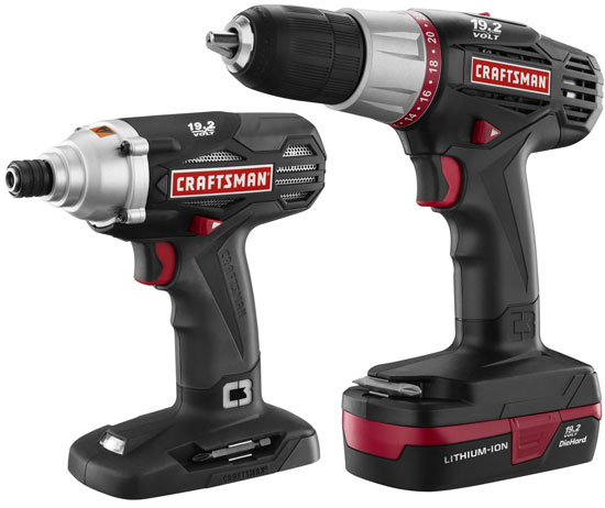 New Craftsman C3 Lithium-ion Drill Driver Kits and Battery Packs ...