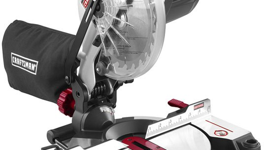 Go Cordless with the New Craftsman C3 Miter Saw