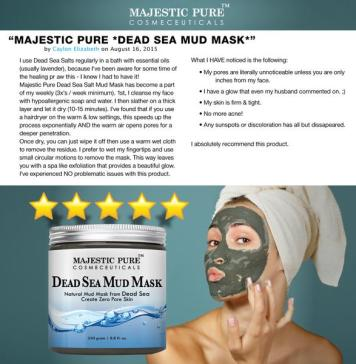 Dead Sea Mud Mask provides care for your skin and your body