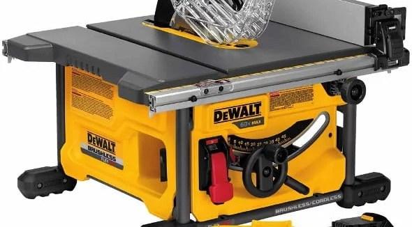 New Dewalt Saws FlexVolt Cordless DCS575