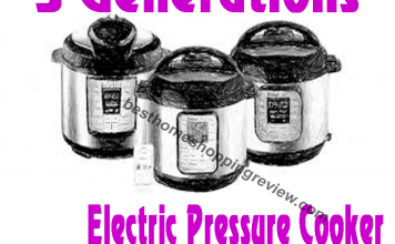 Three Generations of Electric Pressure Cooker